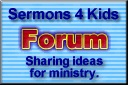 Great website with Bible object lesson ideas and activities for kids