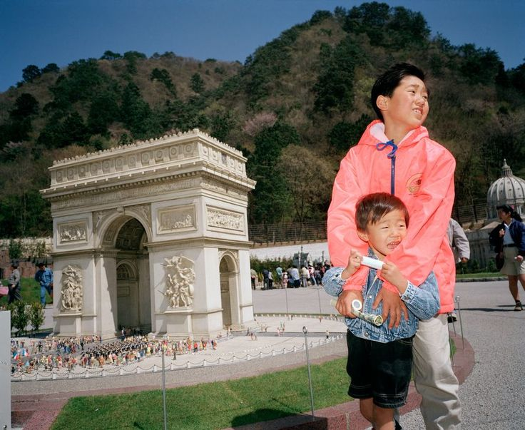 Magnum Photos - Martin Parr JAPAN. Tobu World Square. 1993