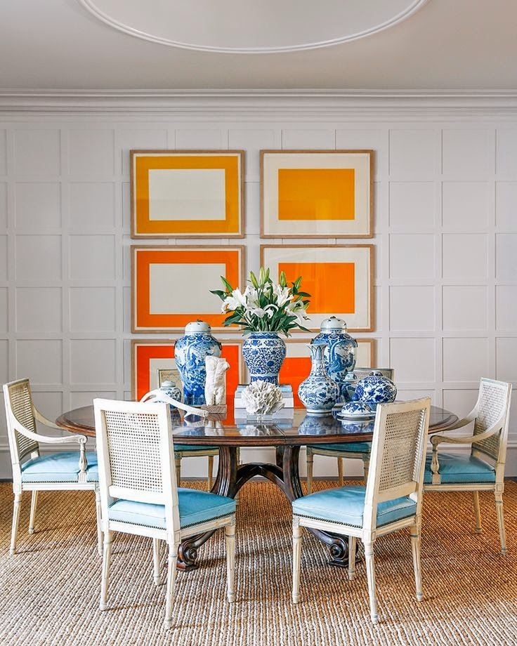 1000+ Ideas About Orange Dining Room On Pinterest