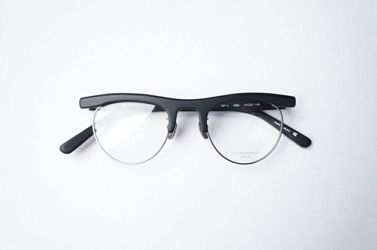 OLIVER PEOPLES OP-4 MBK | optician | ponmegane