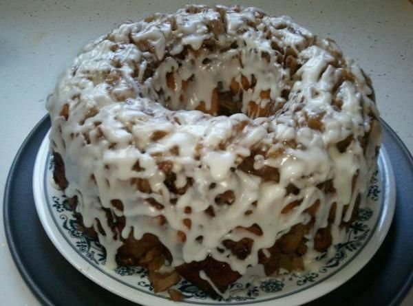 Upside Down Cinnamon Apple Coffee Cake Recipe