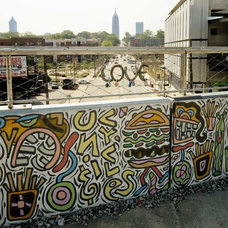 Atlanta Beltline - Go for a walk along one of the best urban spaces in America. There are events throughout the year, and it's a great place to spend the afternoon soaking in the sun // localadventurer.com