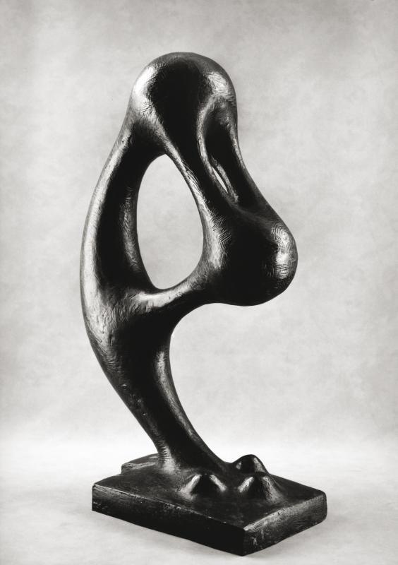 Agustin Cárdenas Soliloquio, 1972 bronzo, cm 72hx40x22