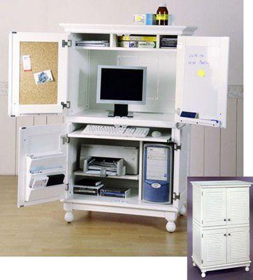 Computer Armoire Computer Desk, | Home Diy Ideas | Pinterest