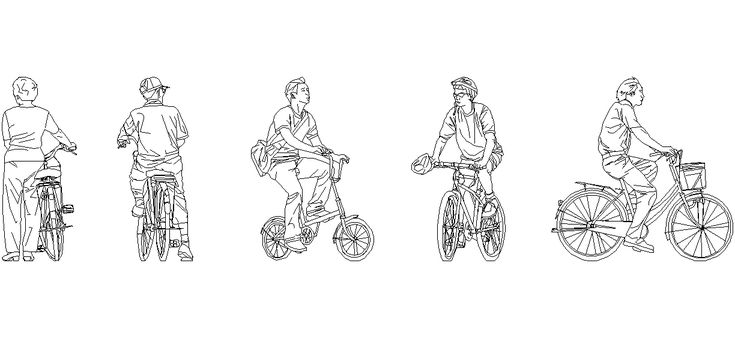 Dwg Adı : Bisiklet süren insan çizimleri  İndirme Linki : http://www.dwgindir.com/puanli/puanli-2-boyutlu-dwgler/puanli-insan-ve-hayvanlar/bisiklet-suren-insan-cizimleri.html