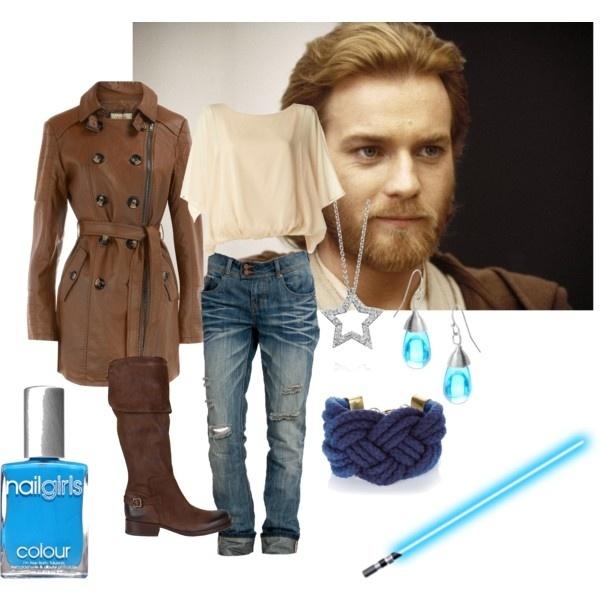 Obi-Wan Kenobi inspired outfit! Designed by me! dawntilldusk