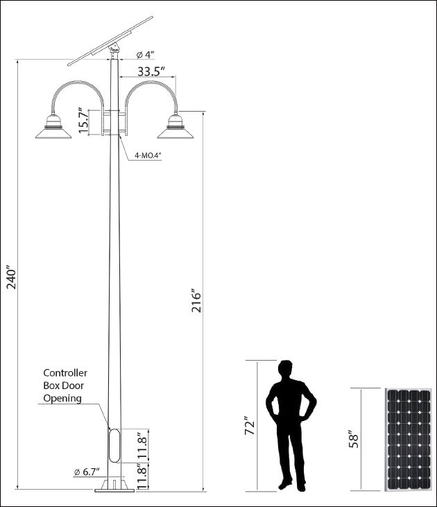 Standard Parking Lot Light Pole Height: Mejores 12 Imágenes De INFO ENERGIA SOLAR En Pinterest