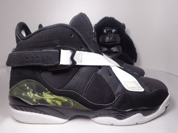 Kids Nike Air Jordan 8.0 Unisex Basketball shoes size 5.5 Youth 467808-001 #Nike #Athletic