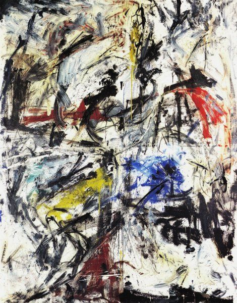 Emilio Vedova, Scontro di situazioni 59-6 Per l'artista il segno diventa di protesta, che viene dall'irruenza e dall'istinto, ma diventa anche qualcosa di politico.