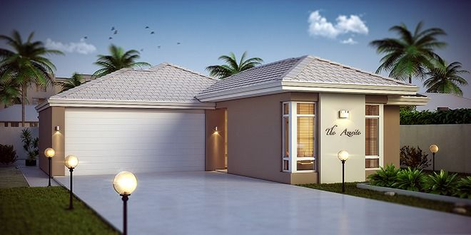 'The Azurite' by Choice by Projex is a 3x2 home design with computer nook, alfresco and double garage.