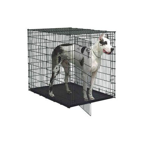 """Midwest Solution Series """"Ginormus"""" Double Door Dog Crate – Dog Supplies Online"""