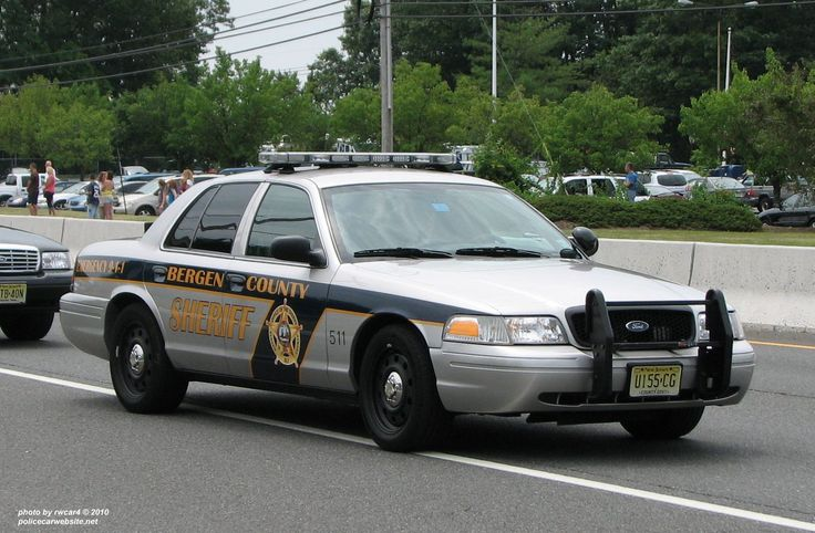 Sheriff Bergen County New Jersey. Ford Crown Vic Police