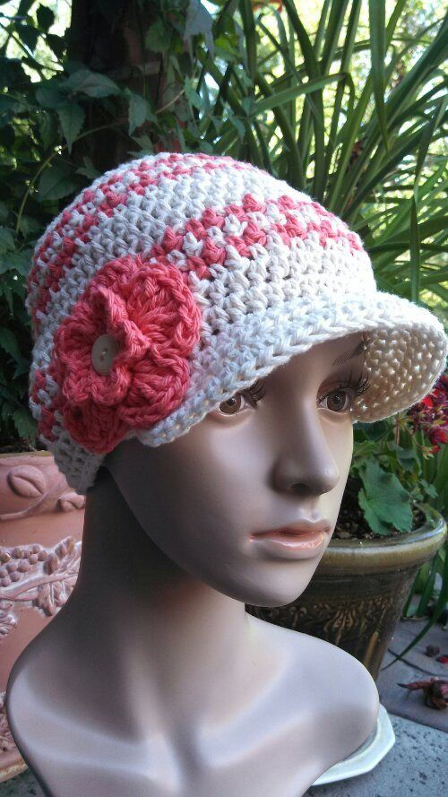 The 102 Best Crocheted Hats Images On Pinterest Crochet Hats