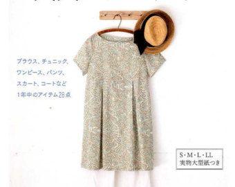 Punto diritto vestiti facile artigianato giapponese modello