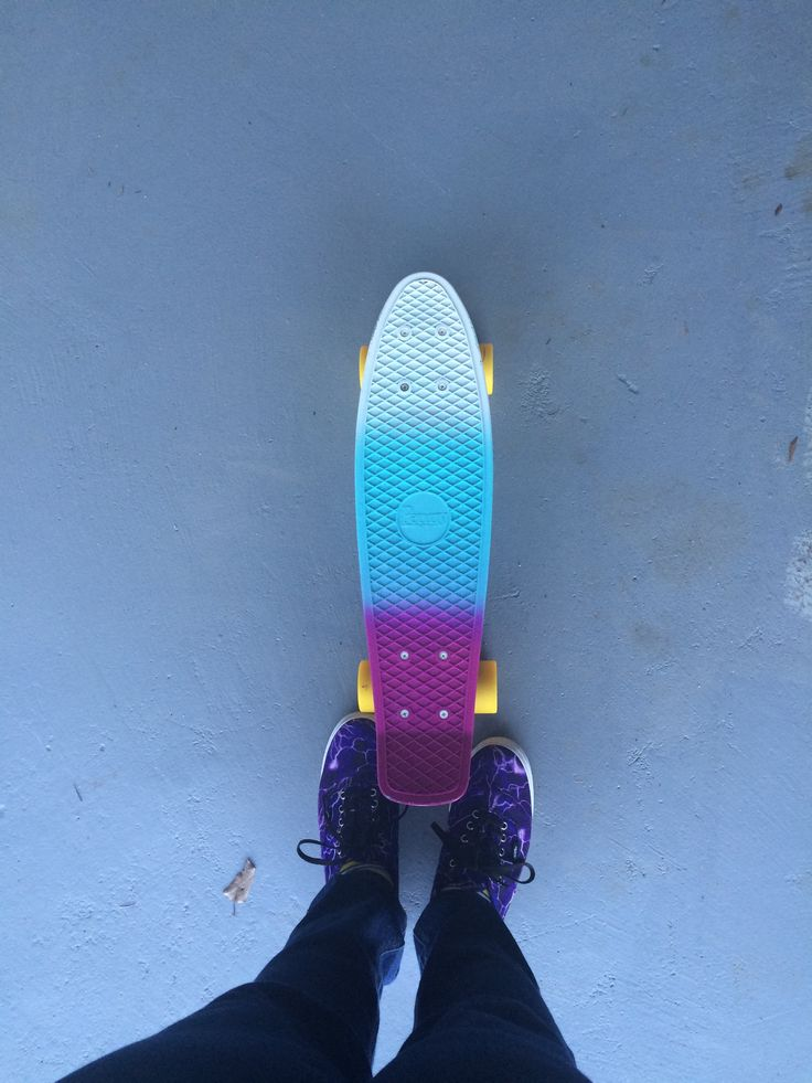 My soda fade penny board