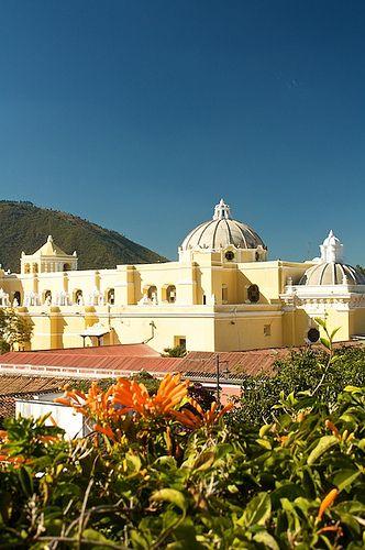 Iglesia de La Merced, Antigua Guatemala.