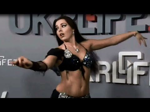 Alla Kushnir - Belly Dance at Ukrainian TV - YouTube