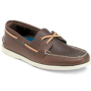 ..or Sperry Top-Siders.  NO socks, of course.  Even if your feet bled--NO socks.