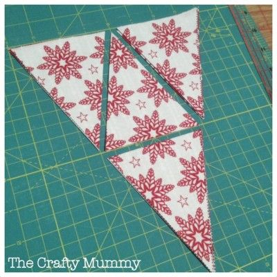 Mini Bunting Tutorial - The Crafty Mummy