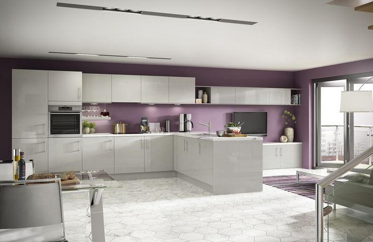 Orlando Grey. Stunning Modern Kitchen Designed to Inspire!  http://www.academyhome.co.uk/products/kitchens/kitchen-ranges/modern