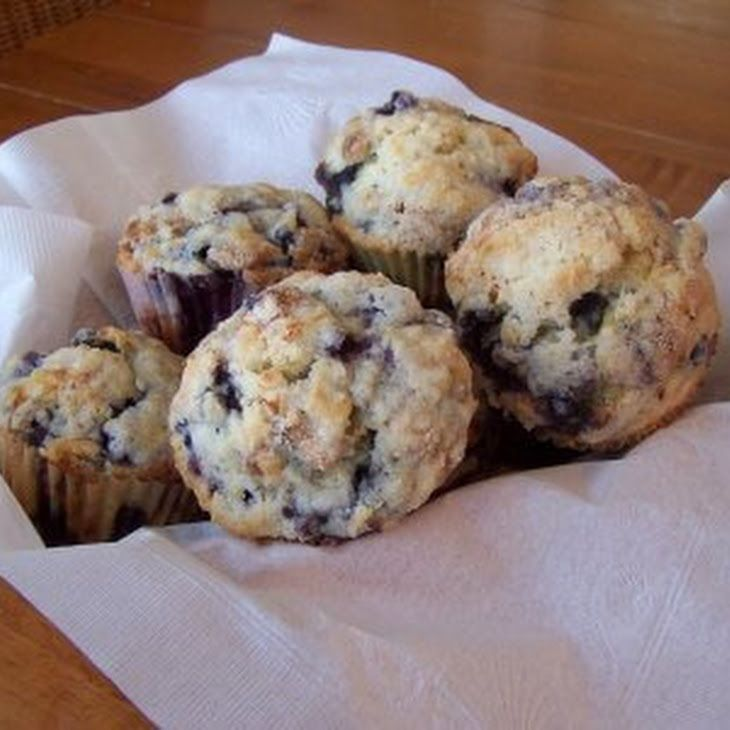 Sugar Free Blueberry Muffins That Taste Great And Are Easy To Make Recipe with almond milk, agave nectar, eggs, flour, baking powder, blueberries, salt