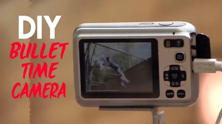 Tom Scott's DIY Matrix Bullet Time Camera