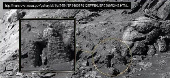 Sol-776 Structure Ruins Mars Anomalies Curiosity Rover ... |Mars Unexplained Anomalies