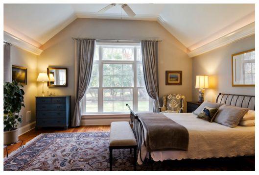 Best Benjamin Moore Stonington Gray Traditional Bedroom Home 400 x 300