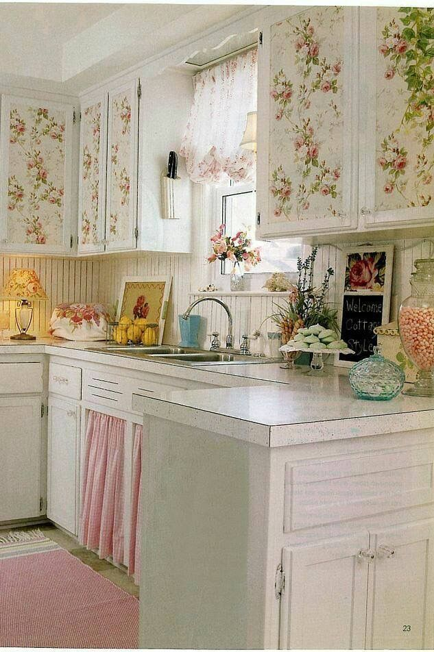Pin by karen w on shabby chic much more pinterest shabby chic interiors shabby and - Pinterest shabby chic kitchens ...