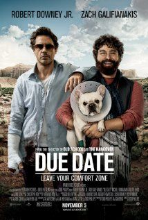 Due Date (2010)   High-strung father-to-be Peter Highman is forced to hitch a ride with aspiring actor Ethan Tremblay on a road trip in order to make it to his child's birth on time.
