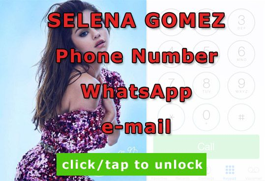 selena gomez phone number  http://celebritiesmovie.com/celebrities-detail/selena-gomez-phone-number-email-adress/