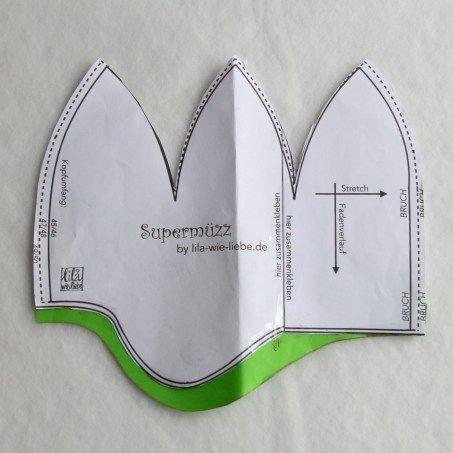 Supermüzz - Wintermütze für Kinder ...MAXI Variante - Lila wie Liebe