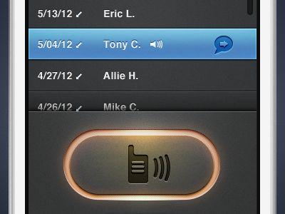 iPhone Walkie Talkie Concept