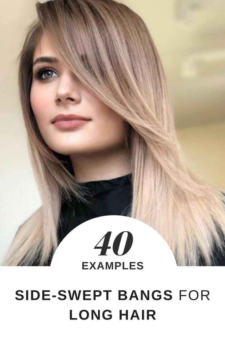 Beautiful Hairstyles With Side Swept Bangs For Long Hair Plenty Of Ideas How To Style Yo Long Hair Styles Side Bangs With Long Hair Side Swept Bangs Long Hair