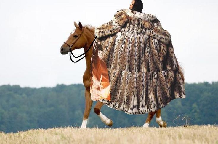 1000+ Images About Fur Coat On Horseback On Pinterest