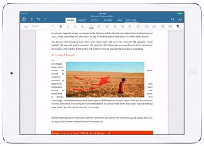 AppsUser: En 46 días Microsoft Office para iPad ya fue descargada 27 millones de veces