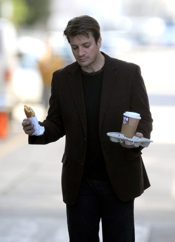 nathan fillion. be still my heart.