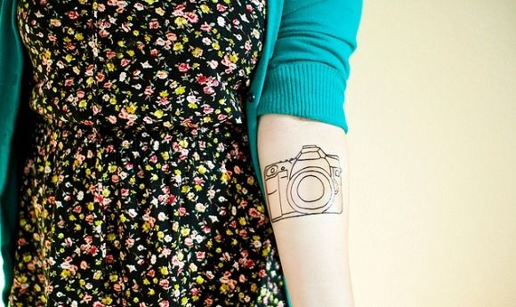 55 Classic Vintage Camera Tattoos  *There are so many amazing tattoos here! I can't pick which camera I would get.