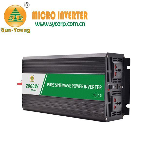 Pure Sine Wave Inverter 12V 220V 2000W for Battery System