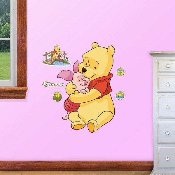 Lovely Disney Winnie the Pooh u Friends Wall Decals by Fathead liked on