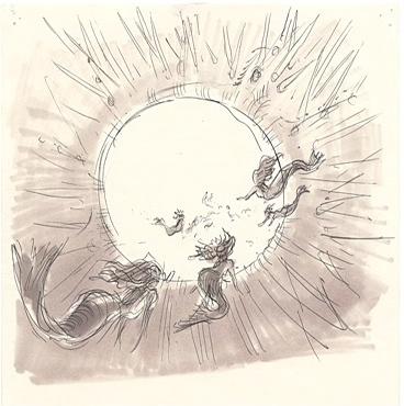 The Little Mermaid - Disney - Concept Art - Storyboard Art