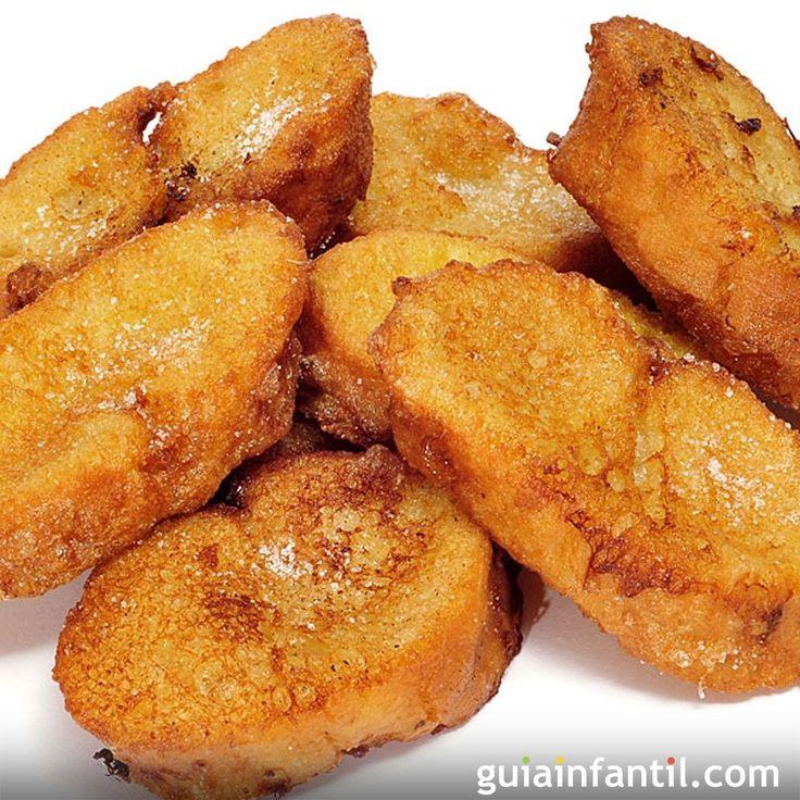 Las torrijas de Semana Santa son uno de los postres más tradicionales en España. Te proponemos una alternativa más ligera y sana con esta receta para niños de torrijas al horno light. Torrijas al horno para niños.