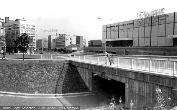 Sheffield, The City Centre c.1965, from Francis Frith