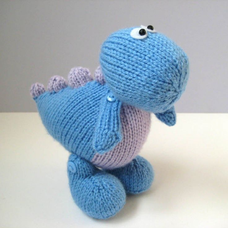 8 Best Dinosaurs Knit Or Crochet Free Patterns Images On Pinterest