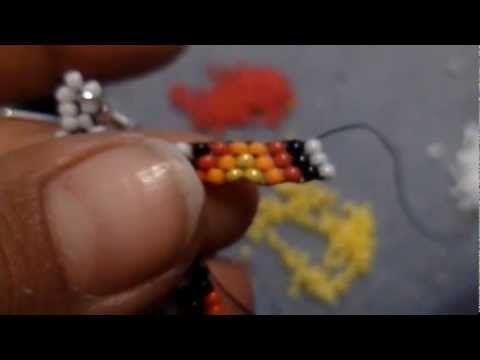 Native American Style Beaded Earrings. Серьги из бисера - YouTube