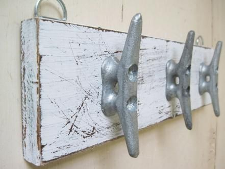 Boat Cleat Coat Rack                                                                                                                                                                                 More