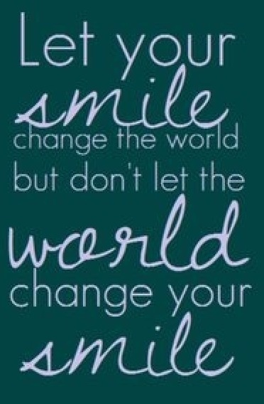 Don't let the world change who you are. | Deloufleur Decor & Designs | (618) 985-3355 | www.deloufleur.com
