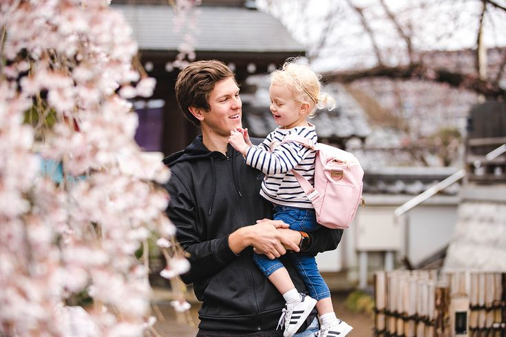 We were SO EXCITED to find cherry blossoms on our last day in Japan! They were blooming a little late this year, so we were so happy to barely catch them. We kept saying that it was the 'cherry blossom'…