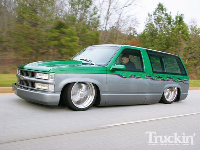 01 chevy tahoe blazer slammed airride airbags