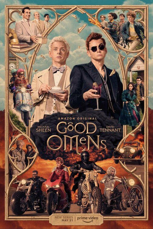 Good Omens Tv Poster 5 Of 5 Imp Awards Películas In